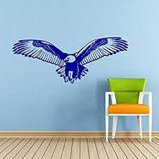 Eagle Wall Decal Bird Of Prey Bald Eagle Head Hawk Flying Wings Decals Wall Vinyl Sticker