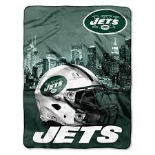 Ny Jets Lush Silk Throw
