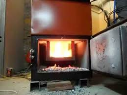 home made wood gasifier boiler