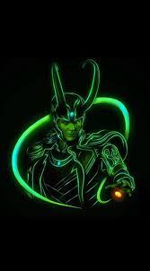 hd neon d loki wallpaper with