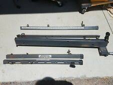 Sears Craftsman 10 X 27 Deep Table Saw Micro Adjust Geared Rip Fence Rails For Sale Online Ebay