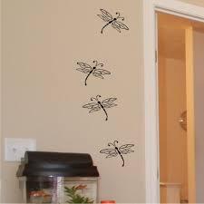 Dragonflies Dragonfly Wall Art Vinyl Wall Art Decals Decal Wall Art