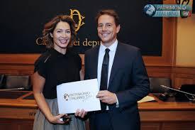 Patrimonio Italiano Tv Award, premiati gli ambasciatori della ...