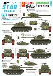Usmc M26 M26a1 Pershing Marine Corps In Korea 1950 53 Decal Hobbysearch Military Model Store