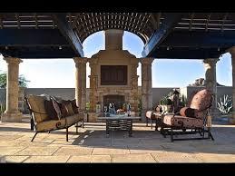 wrought iron outdoor living patio