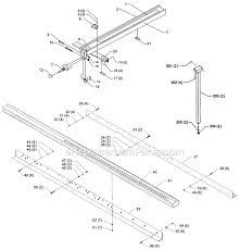 Biesemeyer 78 100 Parts List And Diagram Type 1 Ereplacementparts Com Table Saw Fence Diy Table Saw Fence Table Saw Accessories