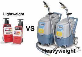 carpet cleaning al machine vs