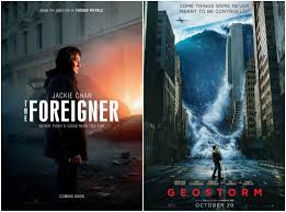 F This Movie!: Redboxing: THE FOREIGNER & GEOSTORM
