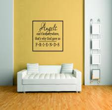 Custom Wall Decal Angel S Can T Be Everywhere Living Room Picture Art Peel Stick Vinyl Wall Decal Sticker Size Inches Walmart Com Walmart Com