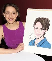Fun Home's Judy Kuhn Gets a Sardi's Caricature | TheaterMania