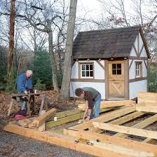 how to build a timber frame diy