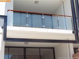 stainless steel baers glass balcony