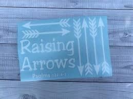 Raising Arrow W Verse Car Decal Yeti Decal Vinyl Sticker M1063 Ebay