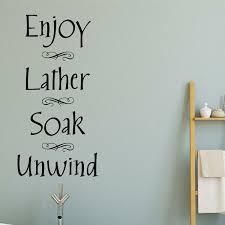 Bathroom Vinyl Wall Decals Wayfair