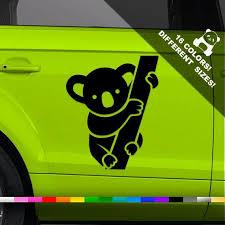 Koala Car Decal Koala Bear Truck Or Bumper Sticker Bumper Stickers Car Window Stickers Laptop Decal