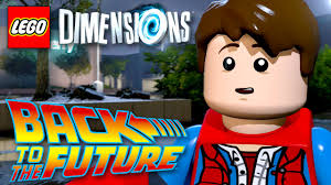 BACK TO THE FUTURE Level Pack! LEGO Dimensions - Gameplay ...