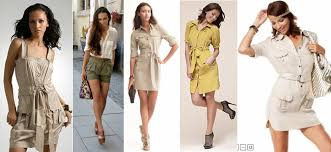 going chic with safari inspired wear