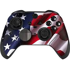 Amazon Com Skinit Decal Gaming Skin Compatible With Xbox Elite Wireless Controller Series 2 Officially Licensed Originally Designed The American Flag Design Electronics