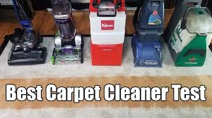 best carpet cleaning machines tested