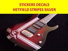 James Hetfield Stripes Guitar Vinyl Decal Hmcustom Online Shop