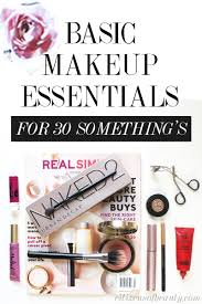 basic makeup essentials in your