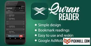 quran reader pick null