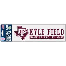 Texas A M Decals Texas A M Aggies Car Decal Sticker Fansedge