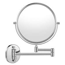 cozzine wall mount makeup mirror 10x
