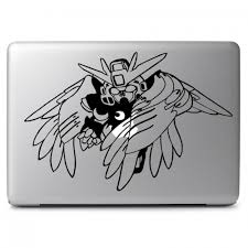 Gundam Wing 00 Apple Macbook Air Pro 11 13 15 17 Vinyl Decal Sticker Dreamy Jumpers