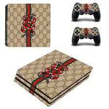 Gucci Ps4 Pro Skin Sticker Vinyl Bundle Designer Lab Co