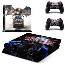 Shop New The Witcher 3 Wild Hunt Decal Ps4 Skin Sticker For Sony Playstation 4 Console Protection Film 2pcs Controllers 3 Patterns Online From Best Gaming Accessories On Jd Com Global Site Joybuy Com