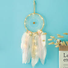 Hot Seller Led Dream Catcher Handmade Diy Dreamcatcher Wall Hanging Kids Room Decor Art Ornament Decor Gift China Dream Catchers And Boho Dream Catchers Price Made In China Com