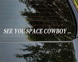 Cowboy Bebop Decal Etsy