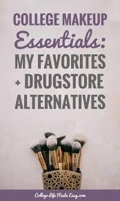 college makeup essentials list my