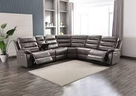 belair charcoal 6pc power reclining