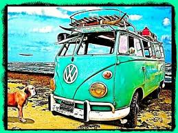 Vinyl Decal There Ain T No Rust On The Happiness Bus Hippie Van Sticker