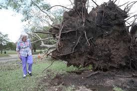 hail larger than golf hammers