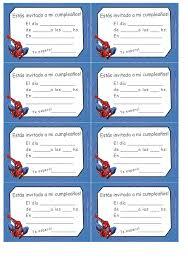 Invitaciones Cumpleanos Spiderman Para Fondo Celular En Hd 11