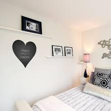 Large Heart Chalkboard Wall Decal Heart Blackboard Vinyl