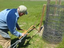 The Following Photos Illustrate A Homemade Fence Puller Don Made Last Spring To Stretch Fencing Single Handedly I Wasn T Able To A Fence Easy Fence Farm Fence