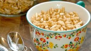 puffed rice cereal recipe for es