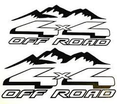 New 4x4 Off Road Decal Sticker Truck Ford F 150 Chevy Silverado Dodge Ram Toyota Ebay