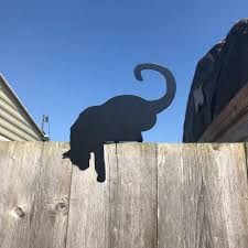 Steel Images Cat Fence Topper Amazon Co Uk Garden Outdoors