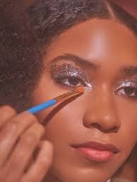 disco eye makeup tutorial for new year