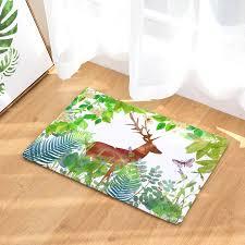 Cammitever Leaves Deer Horse Fox Cute Animal Carpet For Living Room Home Floor Rugs Mats Kids Room Area Rug Living Room Mats Rug Aliexpress