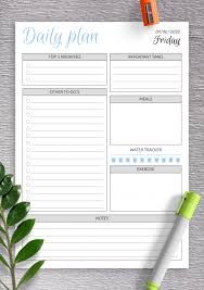 45+ Free Printable Planner Pages Pdf  Gif