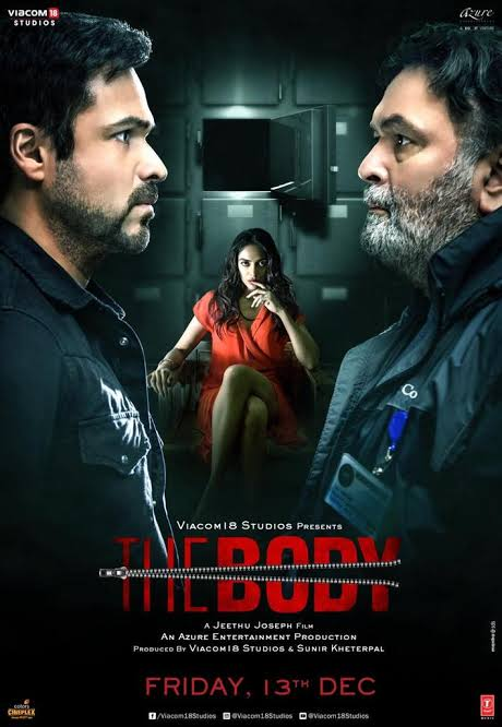 The Body (2019) Hindi ORG 1080p, 720p, 480p NF WEB-DL x264 DD5.1 ESubs
