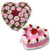 valentine gifts hers to india cake