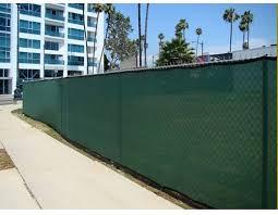 Amazon Com Canopies And Tarps 6 X 50 Heavy Duty Green Fence Screen Mesh Tarp Finished Size 5 6 X 49 6 Garden Outdoor