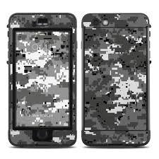 Digital Urban Camo Lifeproof Iphone 6s Plus Nuud Case Skin Istyles
